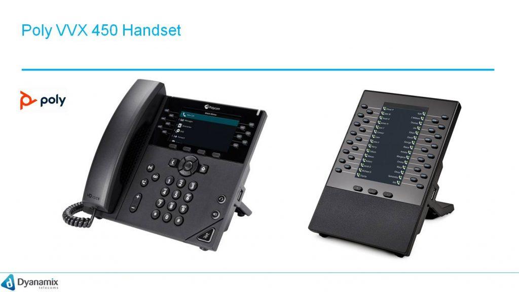 Poly VVX 450 Handset
