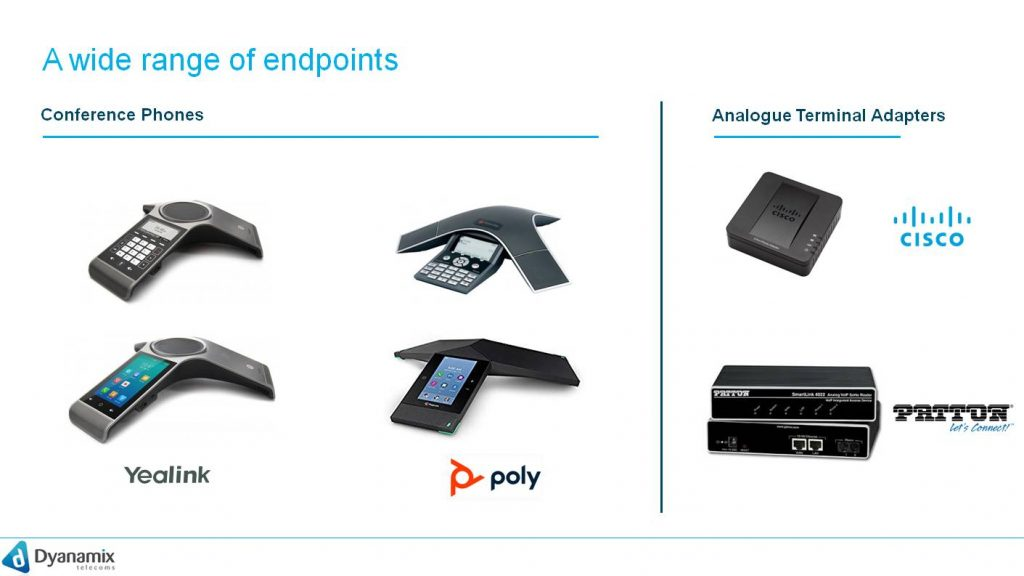 A wide range of endpoints