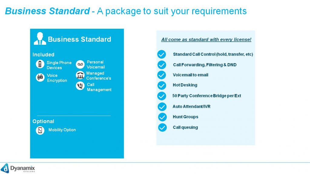 Business Standard  - A package to suit all your requirements