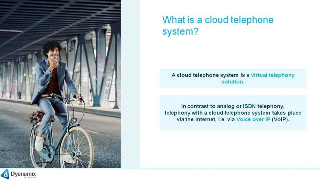 What is a cloud telephone system?