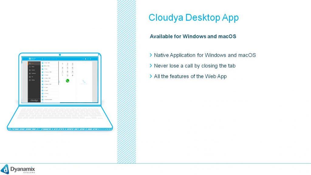 Cloudya Desktop App