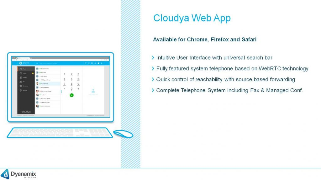 cloudya Web App